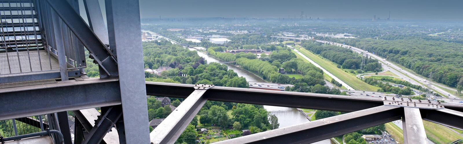 Luftaufnahme Oberhausen