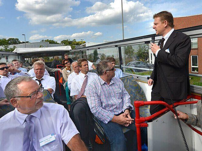 ENO on tour: Fahrt durch Oberhausens Gewerbegebiete 2012