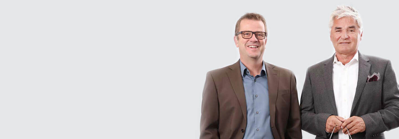 Norbert Lamb und Hartmut Kirch CONTACT GmbH